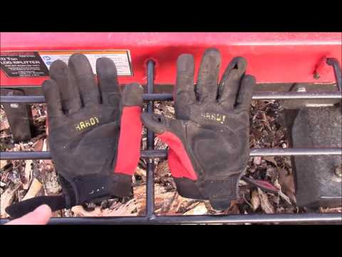 Hardy Professional Series Mechanics Gloves ~ Harbor Freight Item 62525 ~ Product Review