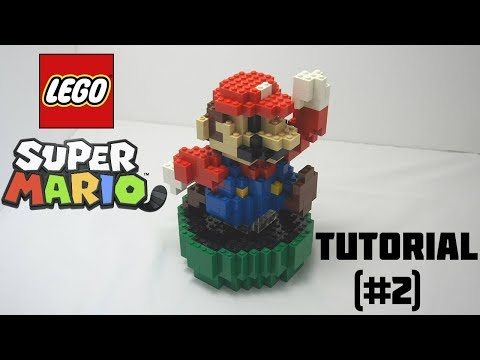 How To Build Your Own 3D Lego Mario! (tutorial #2)