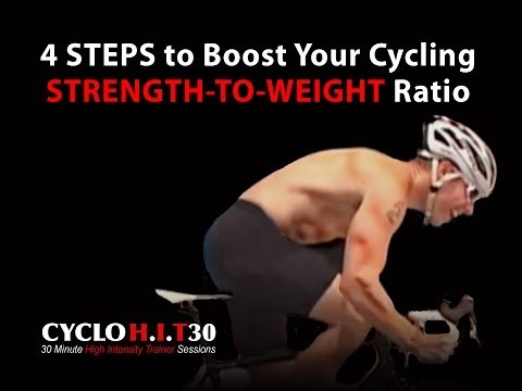 Boost Your Cycling Strength to Weight Ratio--4 STEPS