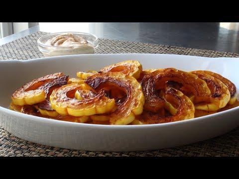 Delicata Squash - How to Prep and Cook Delicata Squash - Healthy Holiday Snack