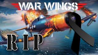 War Wings Shutting Down Servers