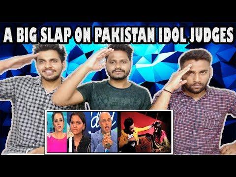 A Big Slap On Pakistan Idol Judges | Maria Meer | Indian Reaction | Krishna  Views