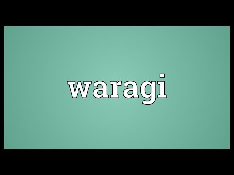 Waragi Meaning