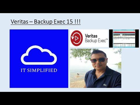 Backup Exec 15- VERITAS