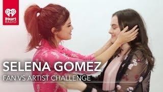 Selena Gomez Duels Fan in Selena Trivia   Fan Vs. Artist