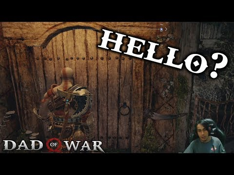 When you go back to Freya's house after killing Baldur - God of War 4