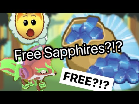 HOW TO GET FREE SAPPHIRES IN ANIMAL JAM PLAY WILD!!!! (Working 2017)