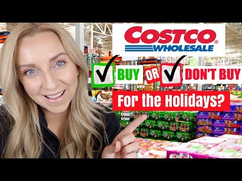SHOULD YOU SHOP AT COSTCO FOR THE HOLIDAYS?? Costco Tips & Tricks!