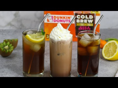 Cold Brew Coffee 3 Ways