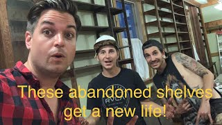 Good Golly! Ghost town shelves get a new life! General Store Part 3