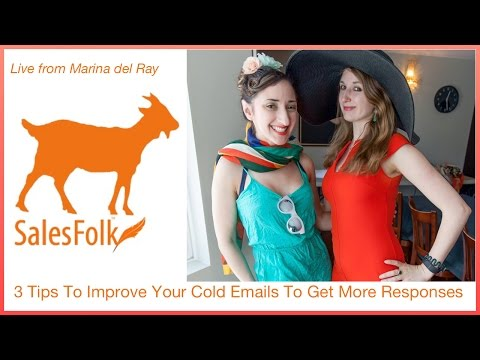 3 tips to improve your cold emails