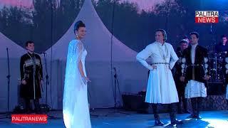 ხუან იოანე ბაგრატიონისა და მოდელი ქრისტინე ძიძიგურის საქორწილო ცეკვა