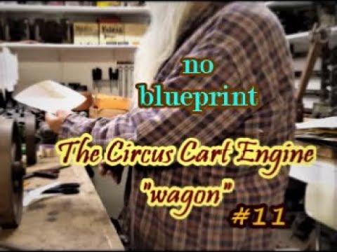 The Circus Cart Engine wagon design #11