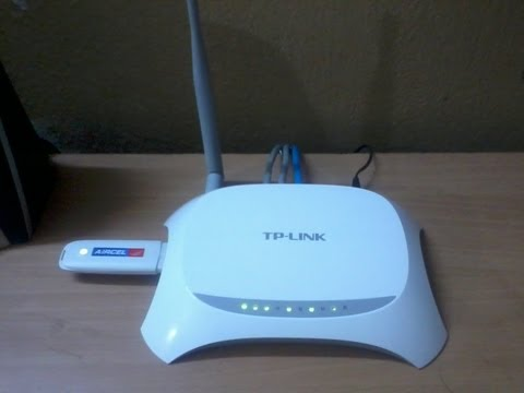 Setup 3g Dongle with TP-LINK TL-MR3220 3G/4G Wireless N Router