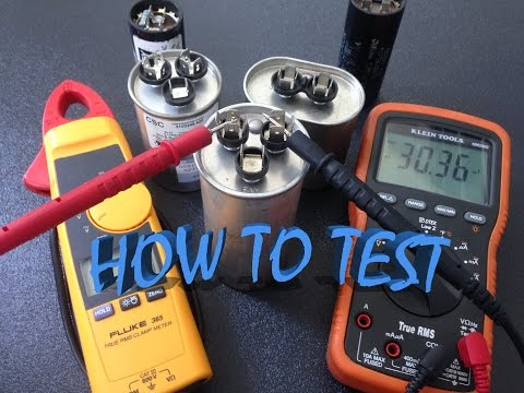 How to test capacitor
