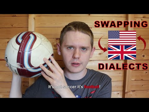 If Americans Spoke British English (Parody)