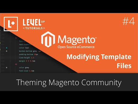 Theming Magento Community #4 - Modifying Template Files