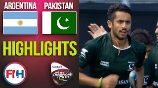 Argentina v Pakistan   2018 Men's Hockey Champions Trophy   HIGHLIGHTS