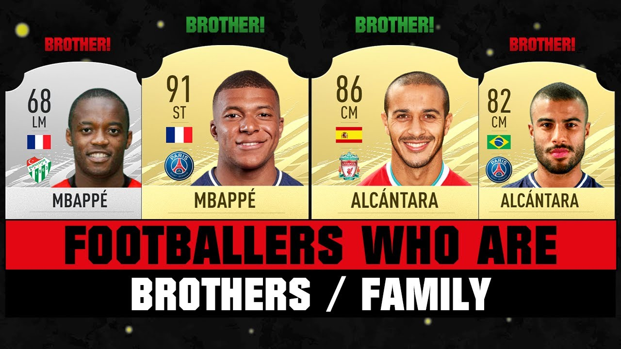 Footballers Who Are BROTHERS/FAMILY! 😱👪 ft. Mbappe, Pogba, Alcantara... etc
