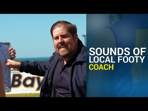 Local Footy Mic'd Up - Coach