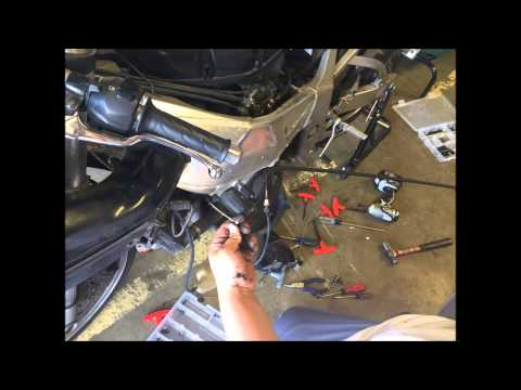 2000 GSXR clutch cable replacement