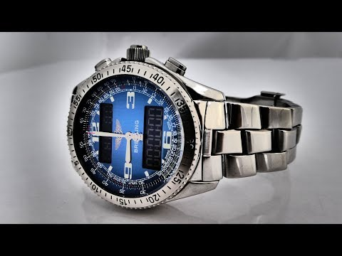 Breitling B1 Professional 17 Years On The Wrist. Sort Off