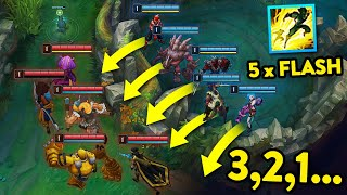 CRAZIEST LEVEL 1 MOMENTS IN LEAGUE OF LEGENDS #2