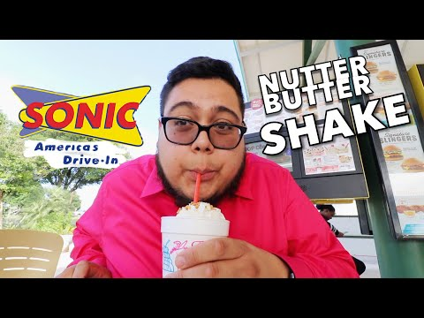 Sonic Drive-In NEW Cookie Jar Shakes - Nutter Butter Banana - Full Nelson Eats