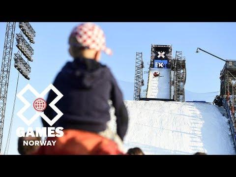 Henrik Harlaut wins Men's Ski Big Air silver   X Games Norway 2018