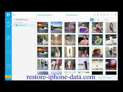 How to Recover Lost Photos from iPhone iPad after iOS 10 Upgrade without Firmware Upgrade