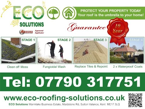 Roof Cleaning in UK - Roof Repairs and Roof Coating by ECO Roofing Solutions
