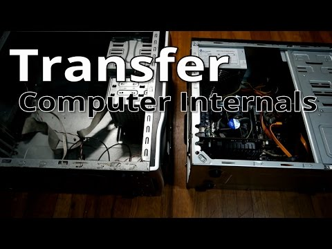 Transfer PC internals from one case to another