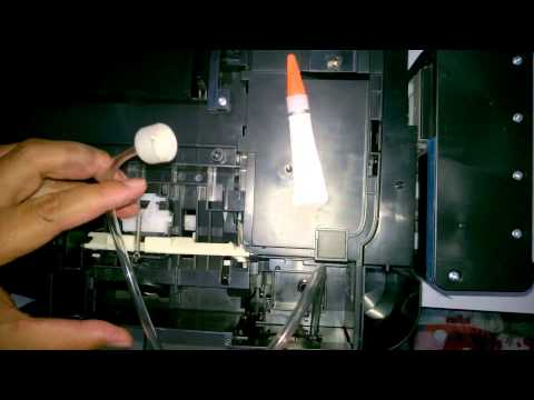 how to make waste ink or reservoir tank on Epson L300