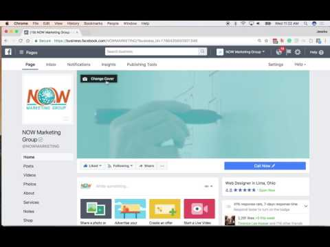 How to change your Facebook Cover Image to a Video