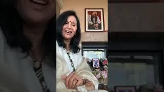 Beautiful Experience with Guruji- Usha Aunty- Old Sangat