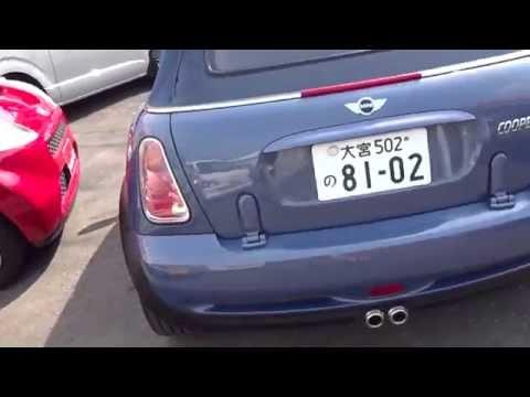2005 Mini Cooper Cabriolet 6 speed manual