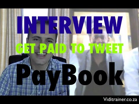 Interview - How to get paid to Tweet