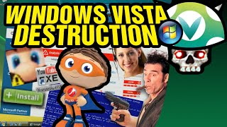 [Vinesauce] Joel - Windows Vista Destruction