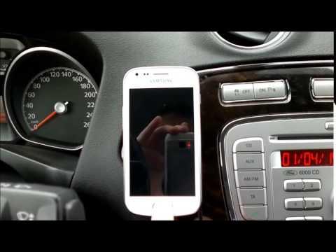 Magnetyczny uchwyt na telefon w Mondeo MK4 [Car Magnetic Phone Holder] (BbB)