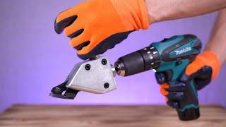 18 Amazing & Useful Drill Attachments