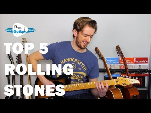 Top 5 Rolling Stones Guitar Riffs and Songs