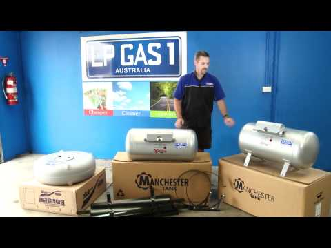 Different LPG Gas cylinders and sizes available for your car gas conversion   LP Gas1