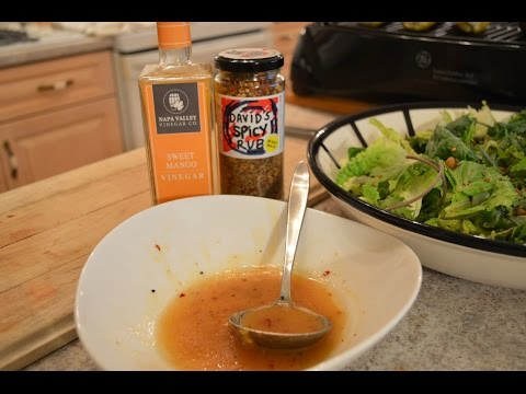 How to Make Napa Valley Sweet & Spicy Mango Vinaigrette: Wine Country Kitchens with Kimberly