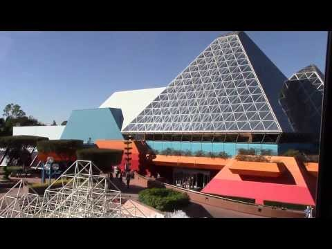 Monorail from TTC to EPCOT Center | Walt Disney World