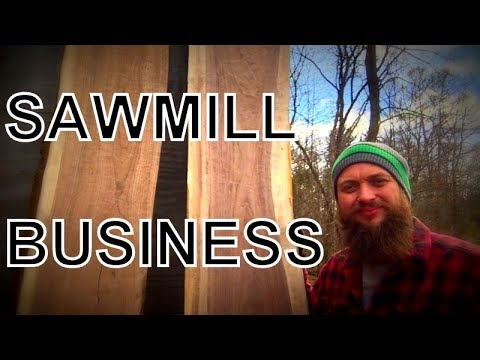 IF YOU OWN A SAWMILL YOU NEED TO CHECK THIS OUT!  SAWMILL BUSINESS