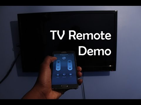 Samsung Galaxy Note 4 - Smart Remote  - TV Remote Demo