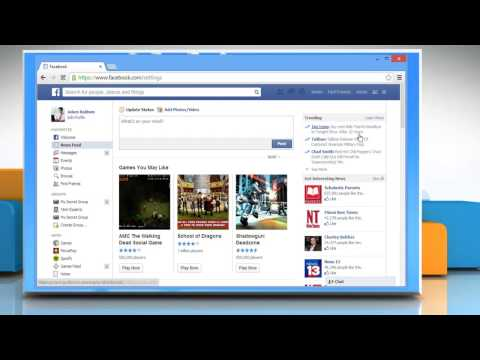 How to remove Apps from  Facebook®