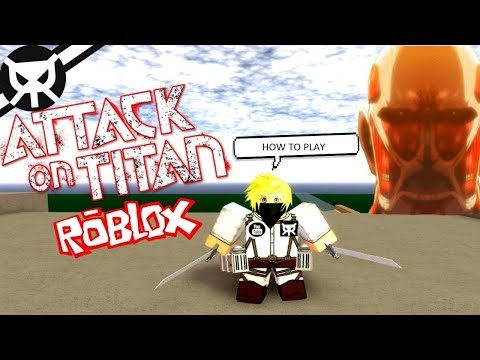 HOW TO PLAY ▼ Attack On Titan: Downfall ROBLOX ▼ Tutorial