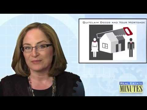 Does Signing A Quitclaim Release You From Your Mortgage?