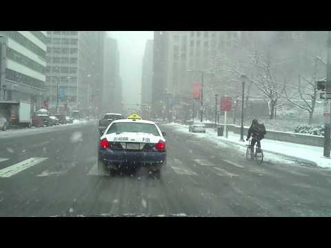 snow in philadelphia center city.
